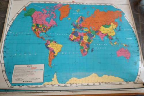 School World Map - For Sale Classifieds