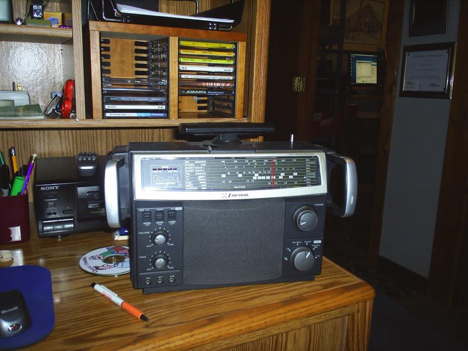 Emerson Multiband AM FM Receiver Radio