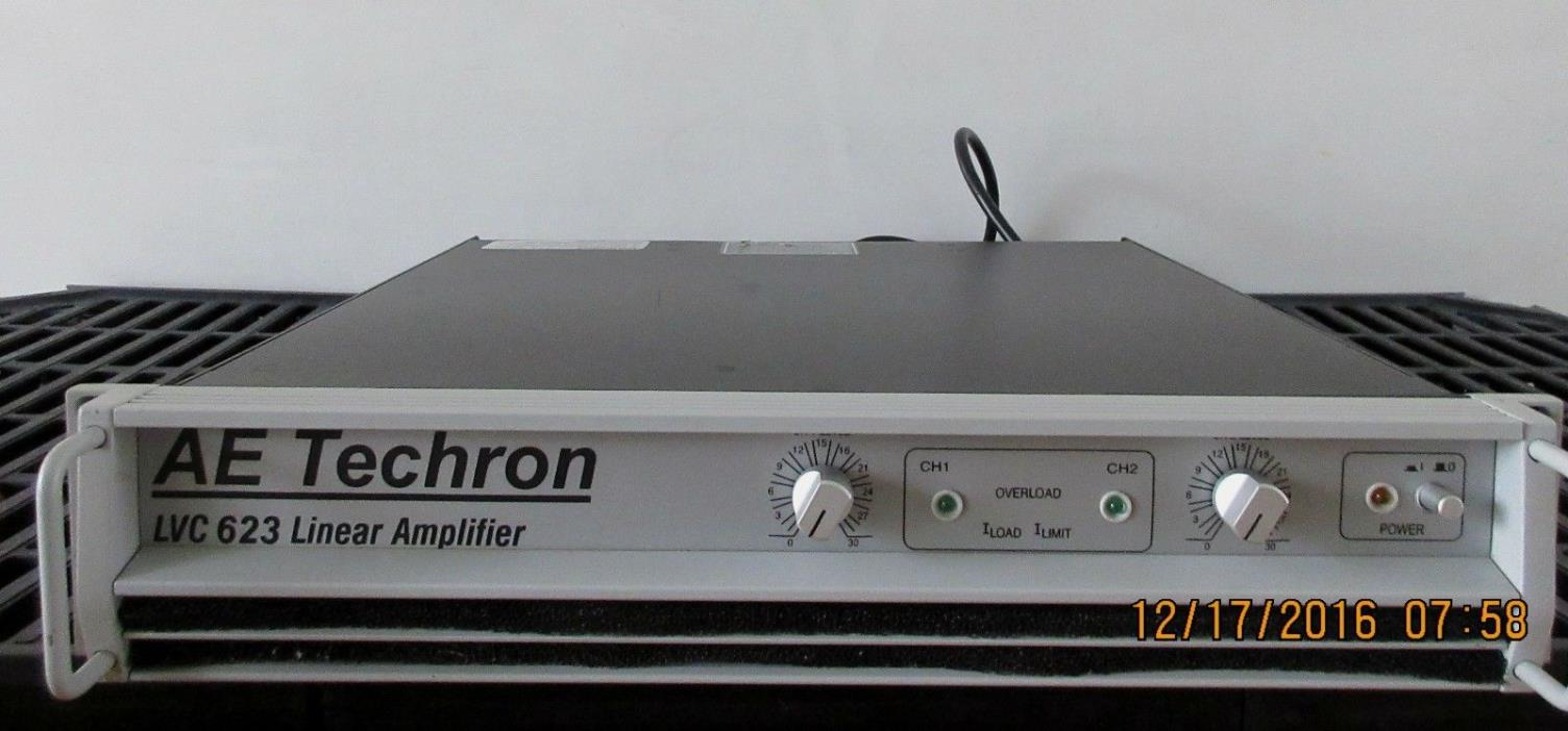 AE Techron LVC 623 Linear Amplifier in Excellent Condition