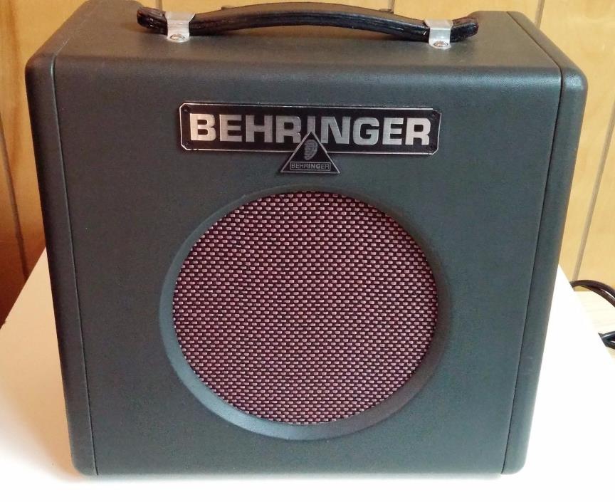 Behringer GX108 Firebird Guitar/Vocal Amplifier