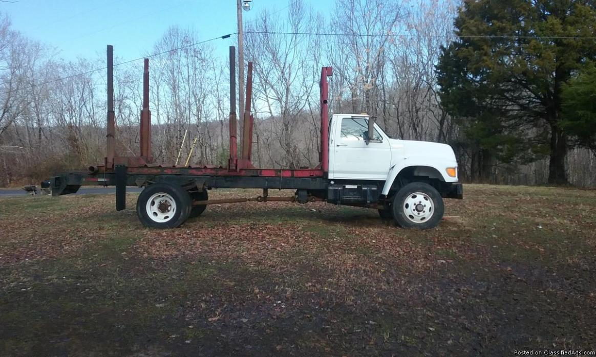 1995 F700 4x4 Cab and Chassis