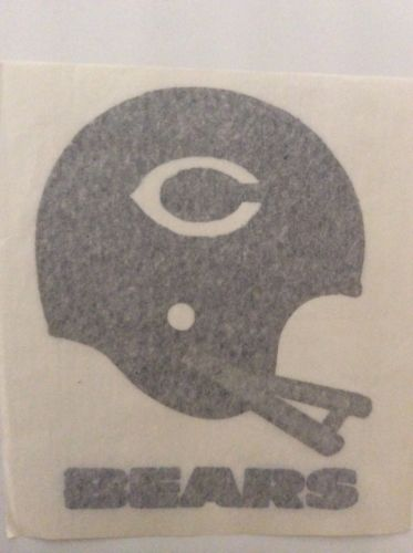 Vintage 60s NFL Chicago Bears Helmet Iron-On Transfer 7