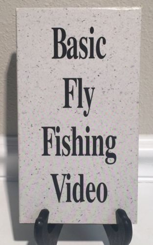 Basic Fly Fishing Video VHS Movie