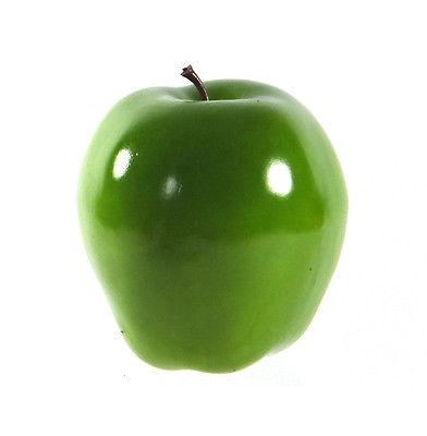 Artificial Green Washington Apple Large - Plastic Decorative Fruit Apples Fake