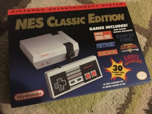Nintendo Entertainment System NES Classic Edition Console BNIB FREE SHIPPING