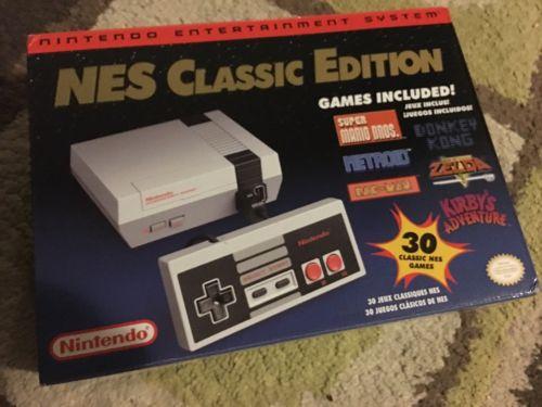 Nintendo Entertainment System NES Classic Edition Console BNIB FREE SHIPPING