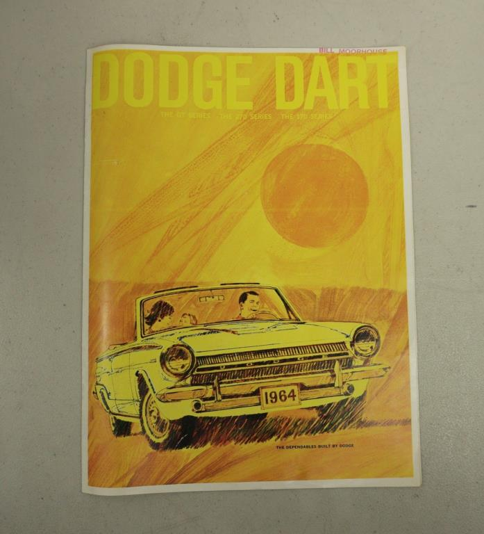 1964 DODGE DART DEALER SALES BROCHURE vintage/pamphlet/booklet Chrysler