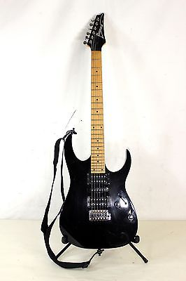 Ibanez RG Series RG170 Electric Guitar 6-String RH Black 2000 - Made in Korea