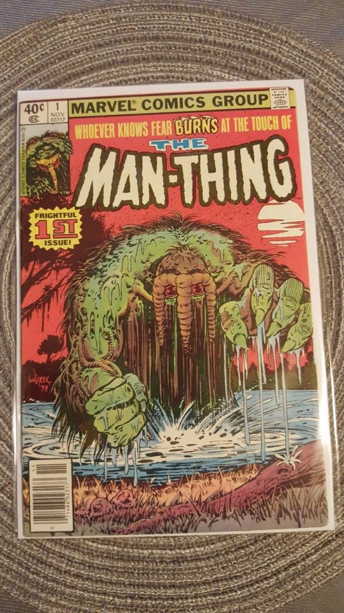 MAN-THING #1 FN/VF 7.0
