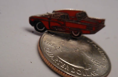 1958 59 60 FORD T BIRD THUNDERBIRD RED - hat pin, lapel pin, tie tack, hatpin P7