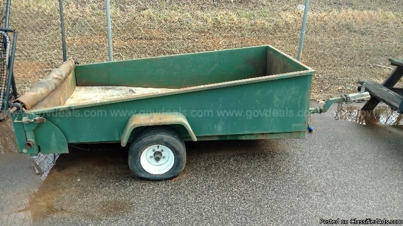 Cemetery trailer 8'x5'