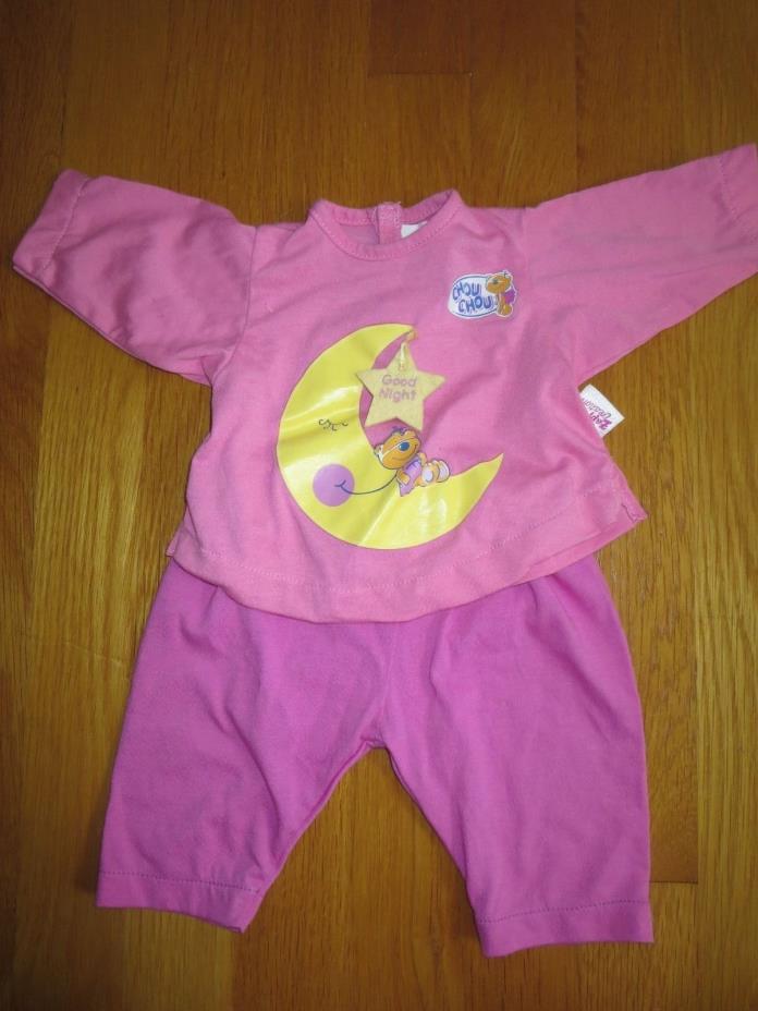 CHOU CHOU Baby Doll Clothes PJs