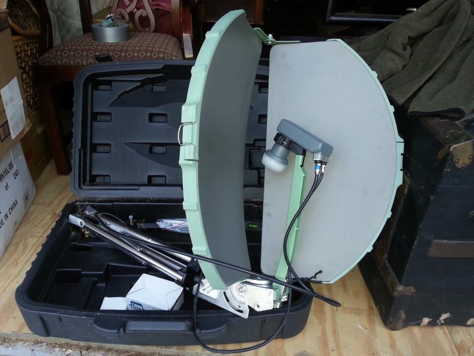 Satellite Oasis Direct TV RV Dish system