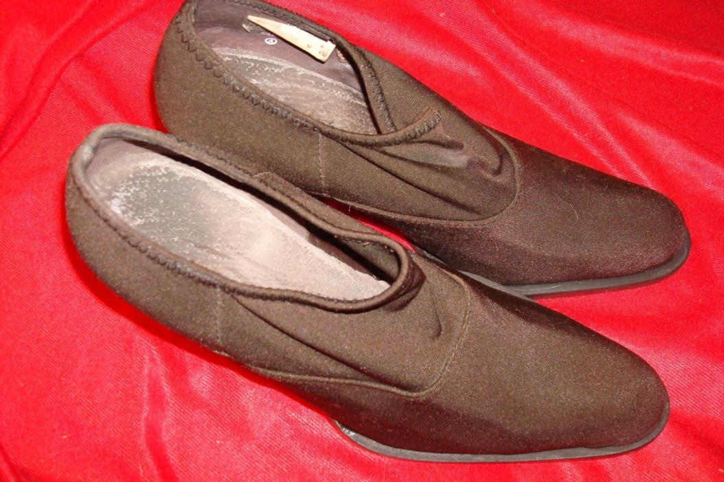 NINE WEST WOMEN'S SHOES SIZE 6M IN BROWN