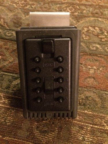 GE  SOTRE-A-KEY SUPRA VEHICLE PORTABLE PUSHBUTTON COMBINATION KEY LOCK BOX  NEW