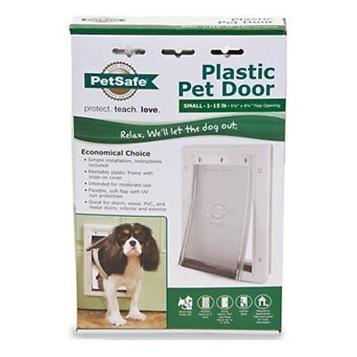 PetSafe Pet Door Plastic Small Dog Soft Tinted Flap Durable Free Shipping New