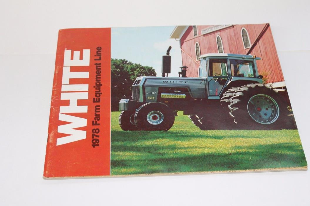 1978 WHITE Farm Equipment Line Catalog