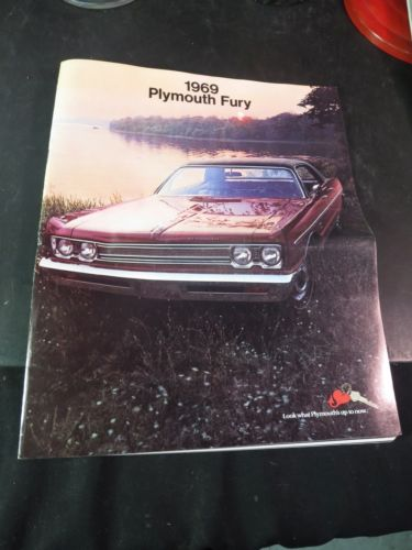 Original 1969 Plymouth Fury Sale Brochure
