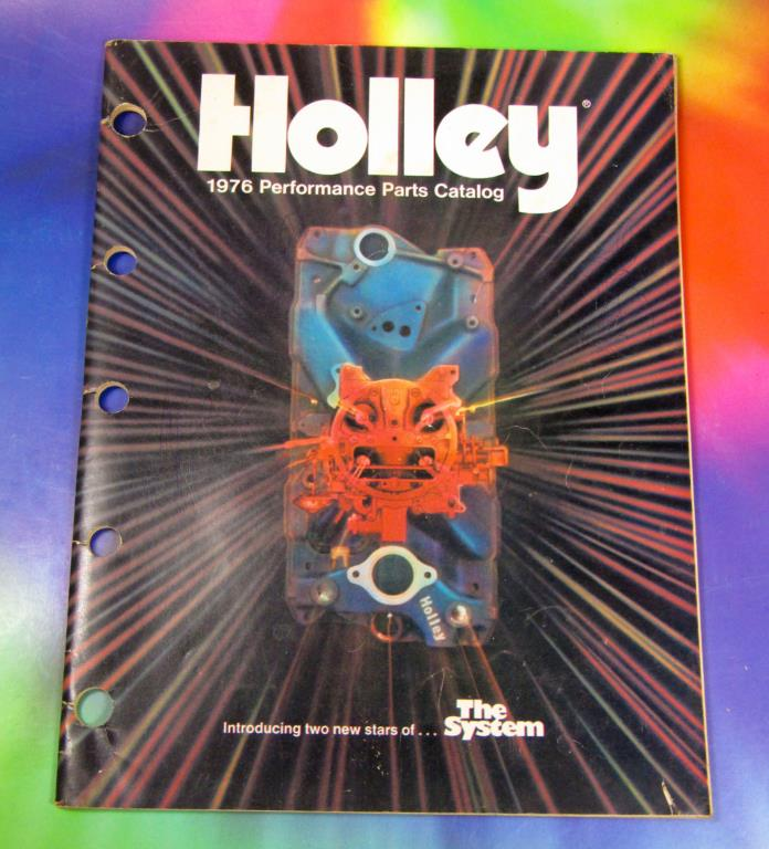 Holley Carburetor Catalog 1976 Performance Parts