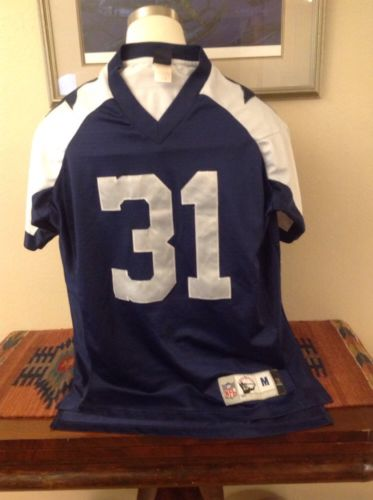 Dallas Cowboys Ricky Williams #31 Gridiron Classic Throwback Jersey Medium M NFL
