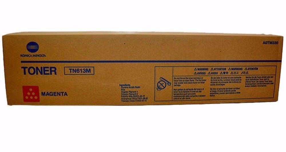 NEW KONICA MINOLTA C452 C552 C652 C552DS C652DS MAGENTA TONER TN613M