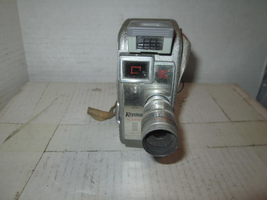 Keystone K-28 Capri 8mm Movie Camera
