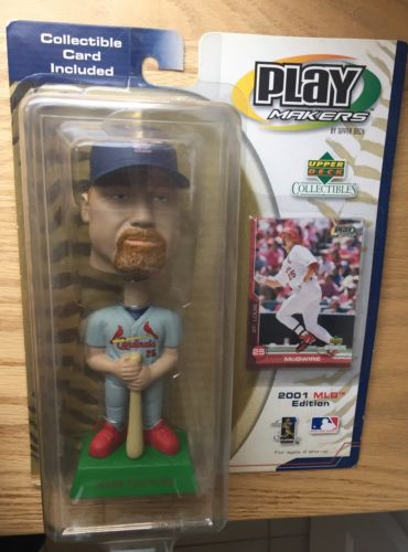 Mark McGwire Bobblehead  With Card Unopened 2001