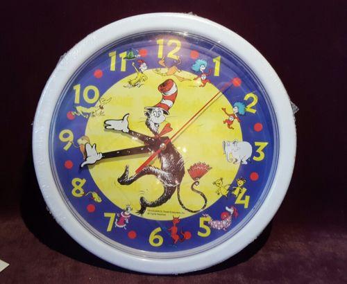 Dr Seuss Wall Clock