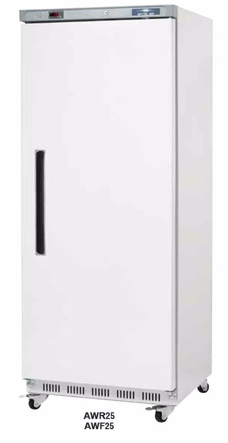 Refrigerator, reach-in, one-section, 25.0 cubic feet capacity, Arctic Air AWR25