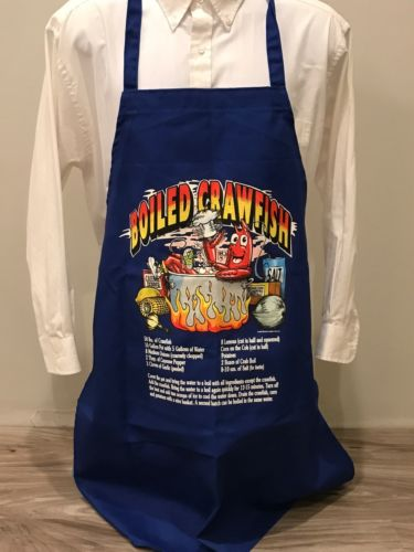 Men's Crawfish Boil Apron NWOT