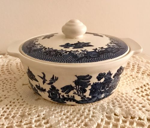 BLUE WILLOW PANTRY COLLECTION ~ INDIVIDUAL CASSEROLE DISH