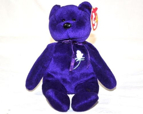 Amazing Collectible Princess Diana Beanie Baby 1st Edition