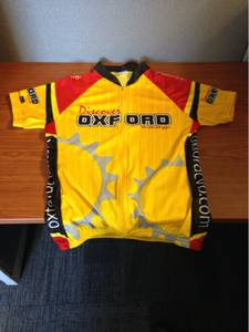 Oxford cycling jersey - new (East memphis)