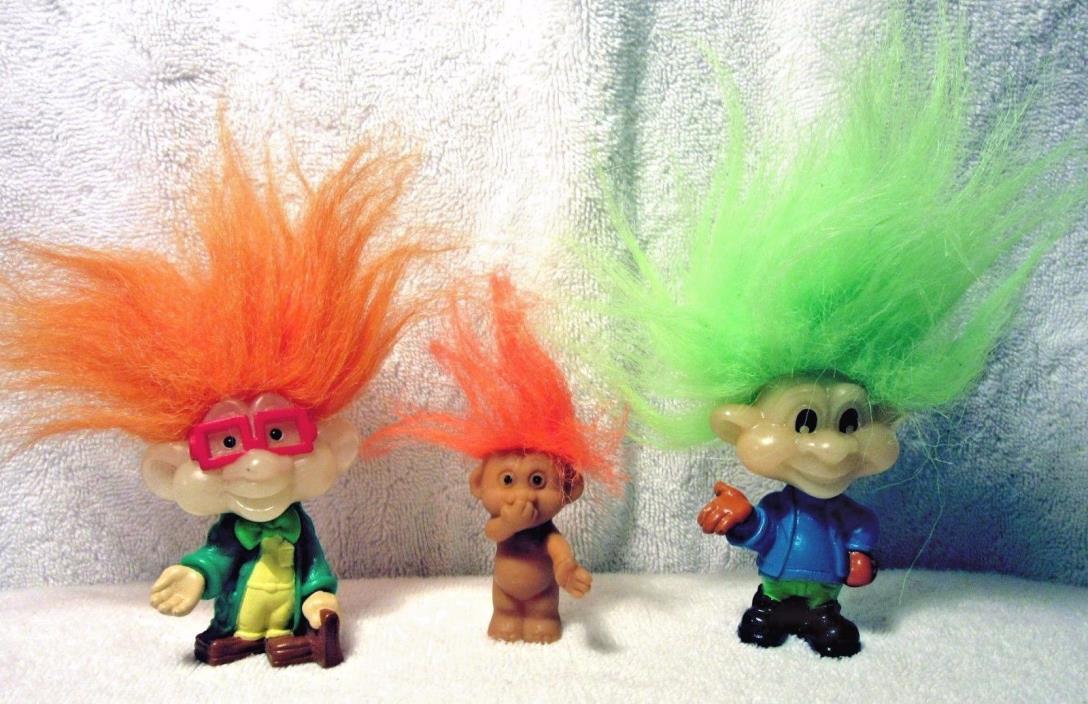 3 Troll Dolls (2 Burger King 3