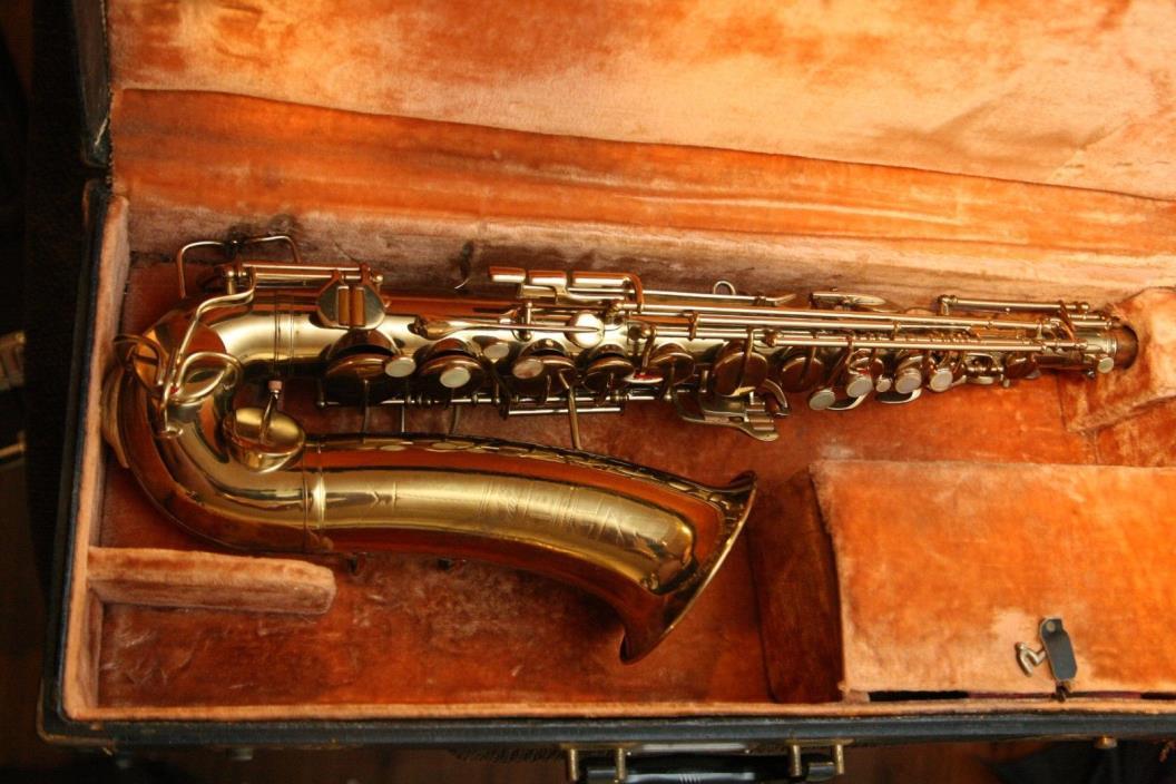 NEAR MINT! Buescher Stencil Gretsch Commander Alto Vintage Saxophone Sax