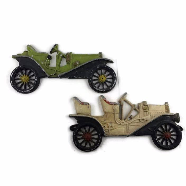 VTG 3D Metal Cars Wall Hanging Decor by Midwest Man Cave Boy Room Decor