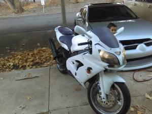 Kawasaki ninja zx9r (Moab utah)