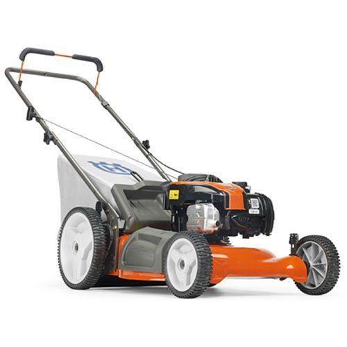 Lawn Mower Walk Behind 21 Inch 140cc Engine Grass Catch Bag Adjustable Height