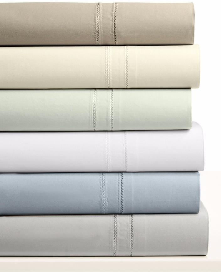 Hotel Collection 800TC 100% Egyptian cotton Flat Sheet - queen - white