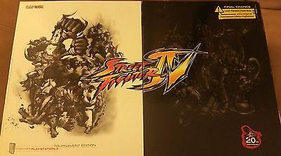 PS3 CAPCOM STREET FIGHTER IV TOURNAMENT EDITION FIGHT STICK BUNDLE PLAYSTATION 3
