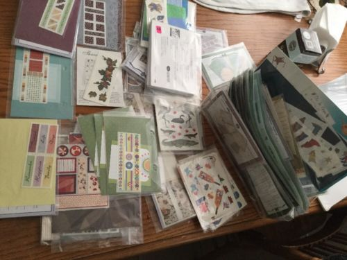Large Lot of 75 Packages Scrapbooking Stickers Embellishments Creative Memories