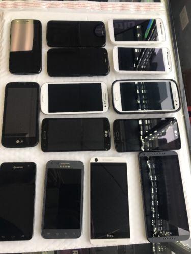 Boost Mobile Wholesale Lot Smart Phones