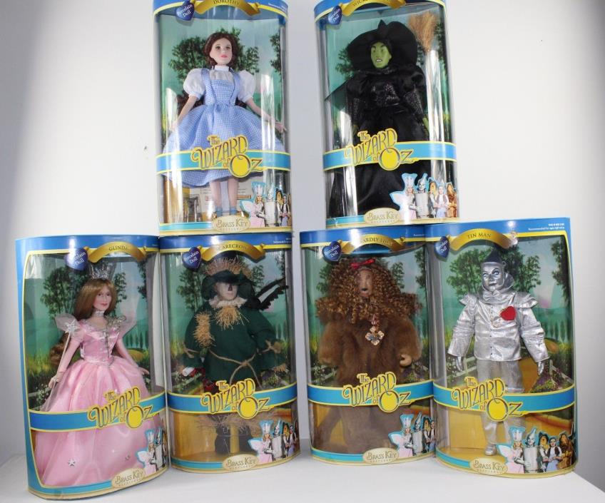 6 NEW  Brass Key Wizard of Oz 16