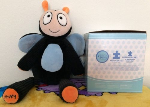 Scentsy Bernie The Buddyfly Autism Awareness Excellent Condition Box