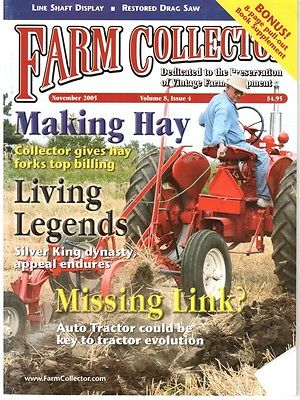 Haymow forks, Silver King & Plymouth Tractors, AUTO TRACTOR