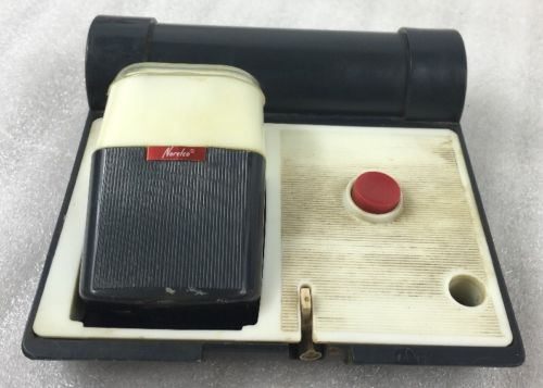 Vintage NORELCO Electric Razor Shaver SC 7930 Holland w/ Case (Missing Cord)