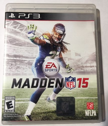 Madden NFL 15 (Sony PlayStation 3 PS3 2014) Complete In Box - FAST SHIP!