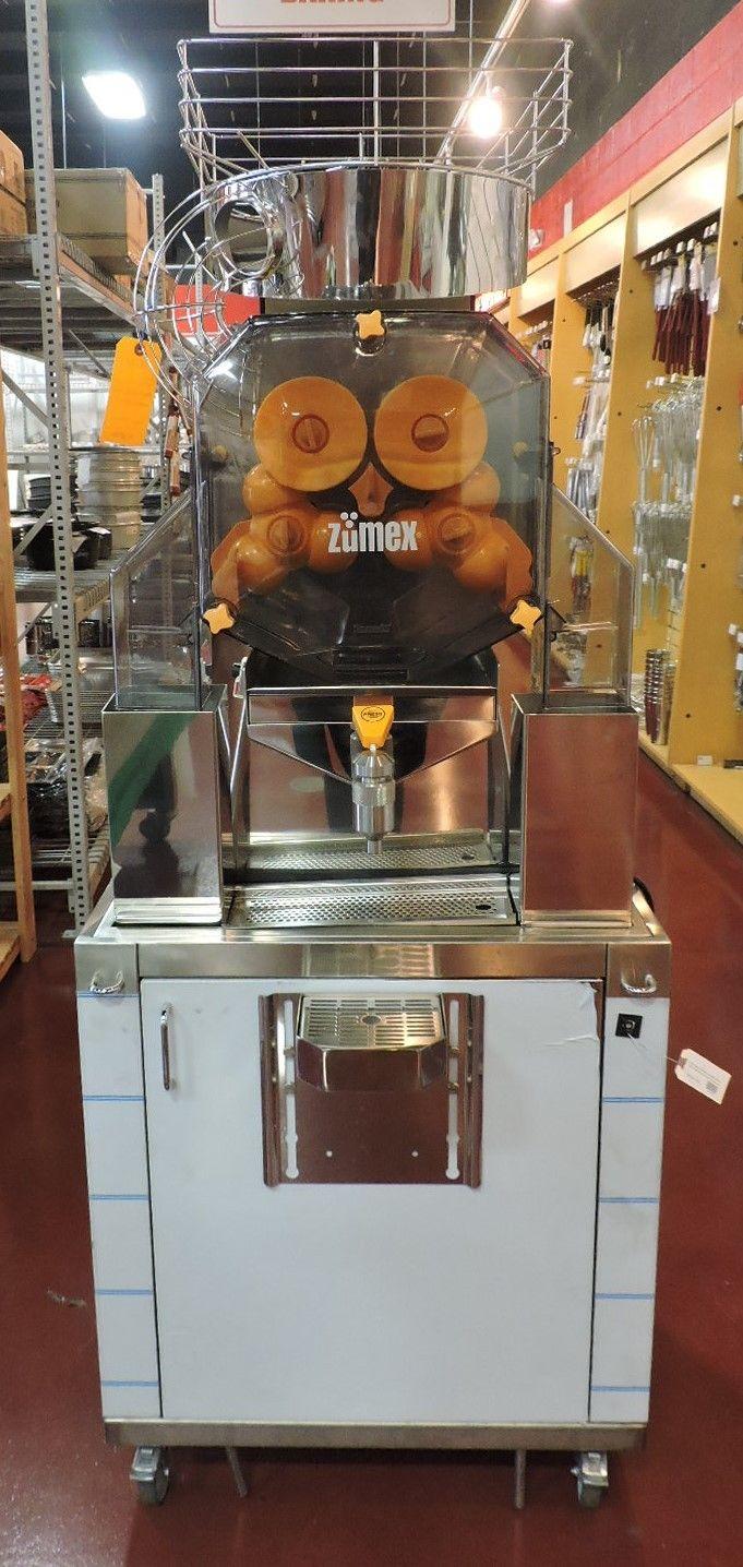 Zumex Speed Self-Service Podium Commercial Citrus Juicer