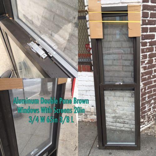 Aluminum Double Pane Windows