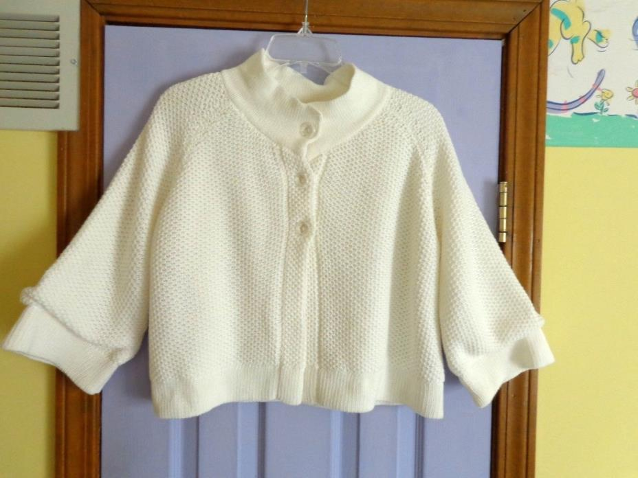 WOMEN'S CHARLOTTE  CROPPED SWEATER JACKET - LARGE